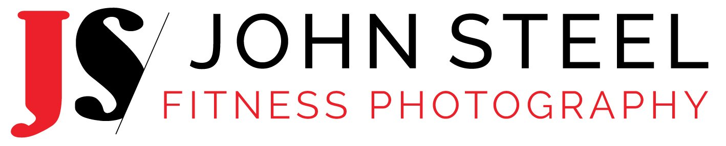 Logo: John Steel Fitness Photography Logo