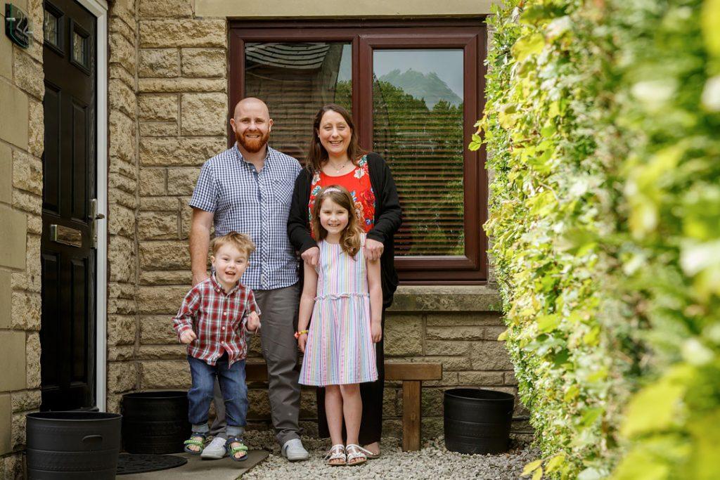 Meltham - Doorstep portraits, lockdown photography, Huddersfield, West Yorkshire, Holmfirth, family portrait photography