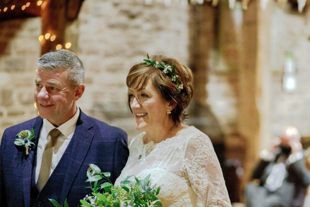 Bride and groom during ceremony -Whiston Manorial Barn Wedding Photography,Rotherham  wedding photographer