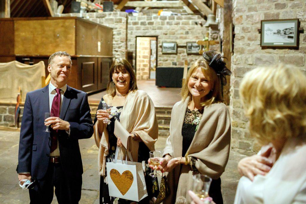 happy guests - Whiston Manorial Barn Wedding Photography,Rotherham  wedding photographer