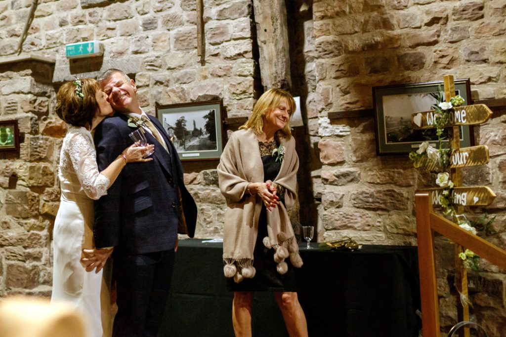 Bride and groom hugging - Whiston Manorial Barn Wedding Photography,Rotherham  wedding photographer