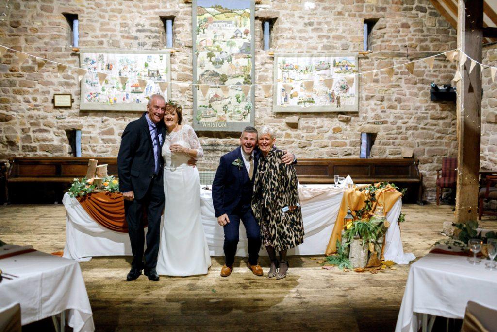 group photo - Whiston Manorial Barn Wedding Photography,Rotherham  wedding photographer
