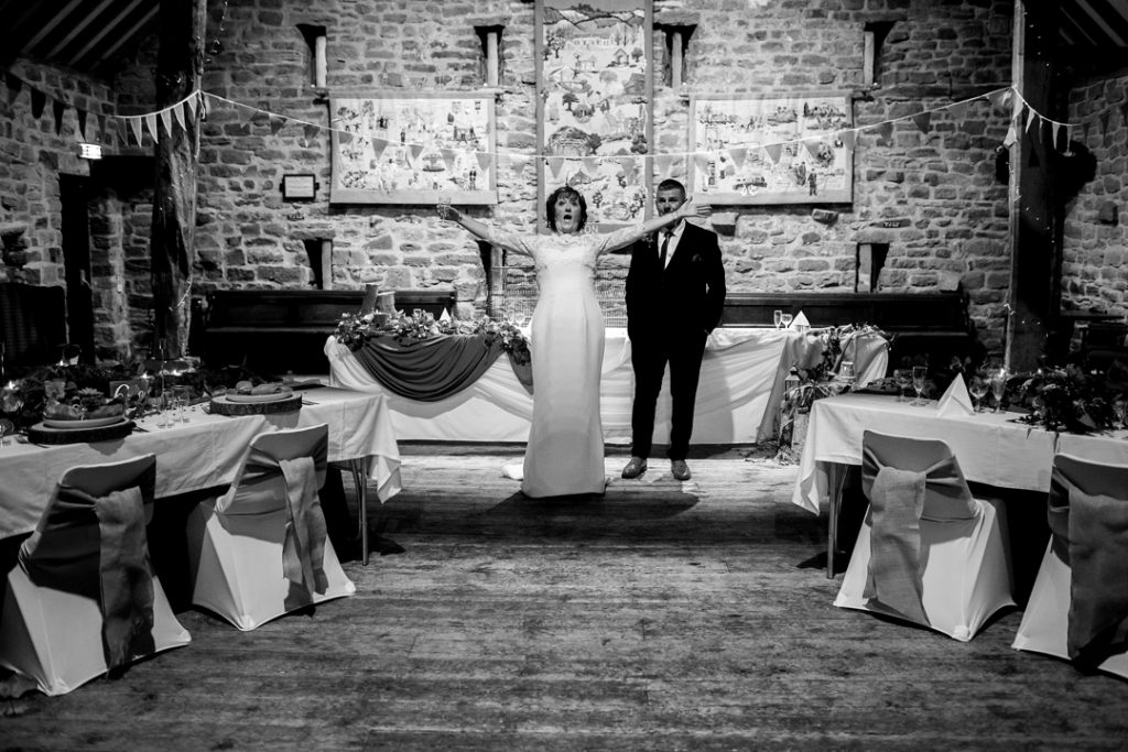 Bride going mad - Whiston Manorial Barn Wedding Photography,Rotherham  wedding photographer