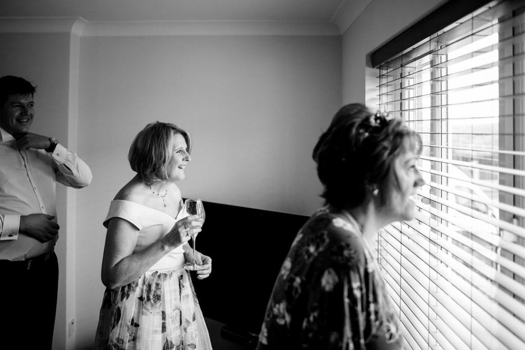 Bride awaiting wedding car -Whiston Manorial Barn Wedding Photography,Rotherham  wedding photographer