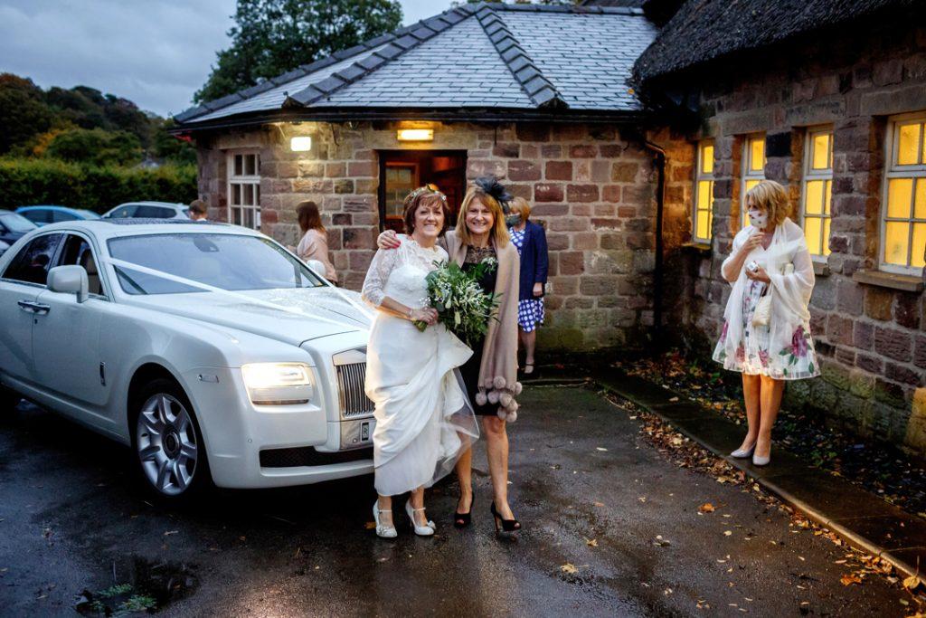 Bride and friend - Whiston Manorial Barn Wedding Photography,Rotherham  wedding photographer
