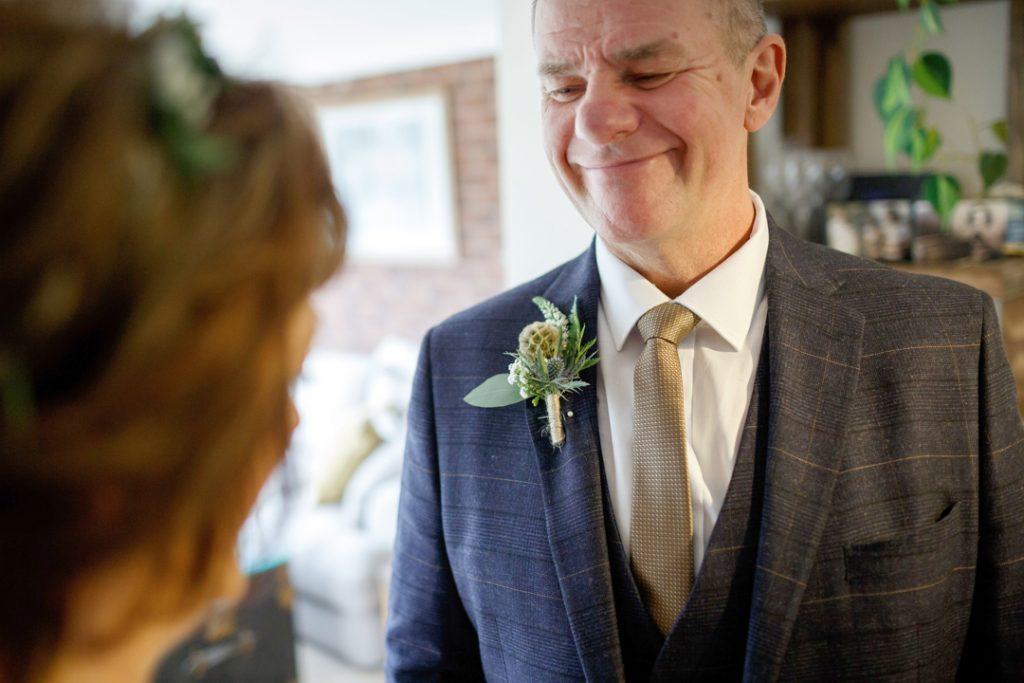 Bride and groom happiness - Whiston Manorial Barn Wedding Photography,Rotherham  wedding photographer