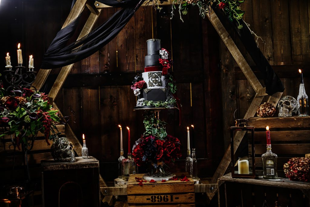 Halloween themed styled shoot West Yorkshire, Wedding Fayres Yorkshire styled shoot, John Steel Photography, wedding suppliers, weddings aren't dead, spooky wedding, Brighouse Holiday Inn, wedding photography West Yorkshire