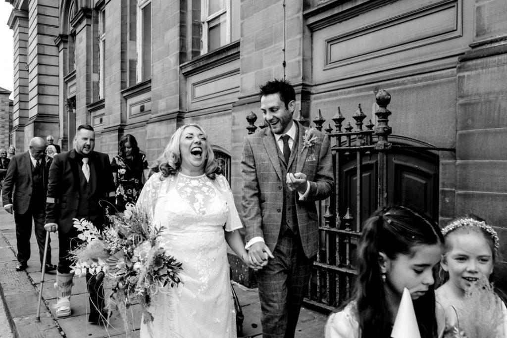 Wedding photography Huddersfield - West Yorkshire - Huddersfield Town Hall wedding