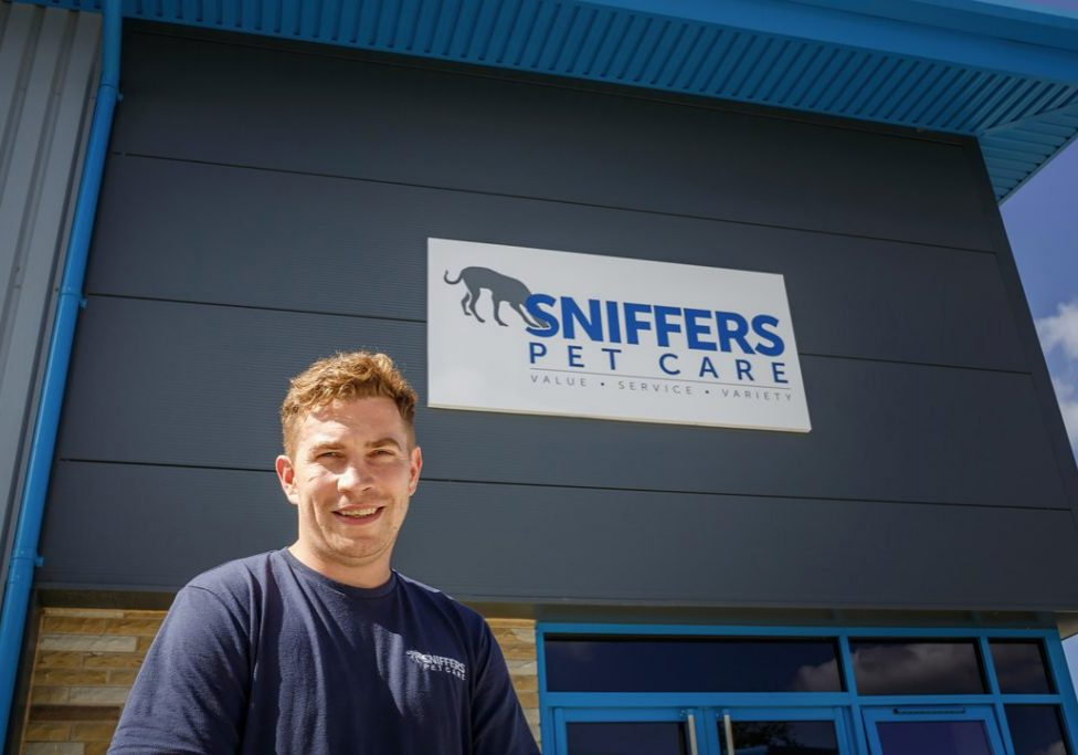 Sniffers Pet Care, Huddersfield marketing images, environmental business portraits, PR photography, West Yorkshire