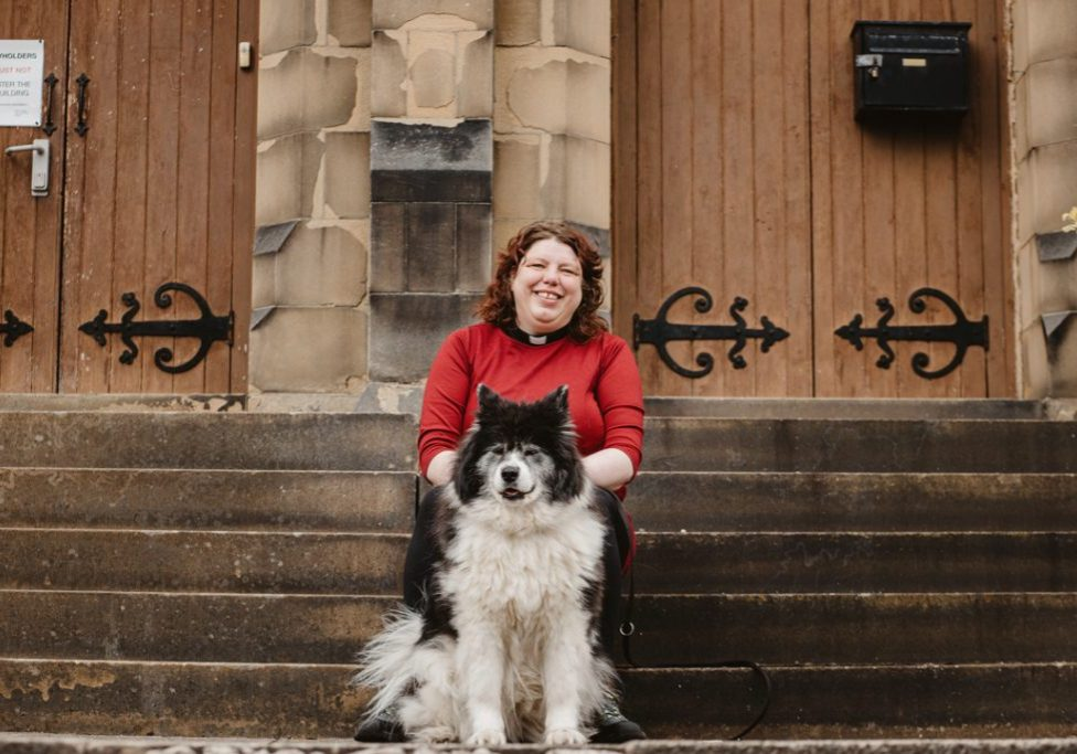 Trinity Church Honley, personal brand photography Huddersfield